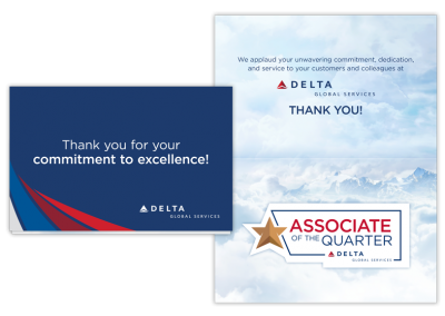Associate Recognition Card and Magnet