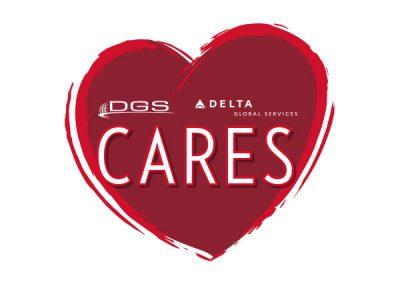 DGS Cares Logo