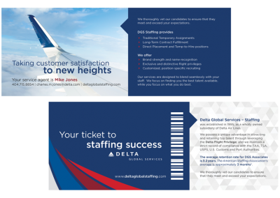 Boarding Pass Marketing Collateral