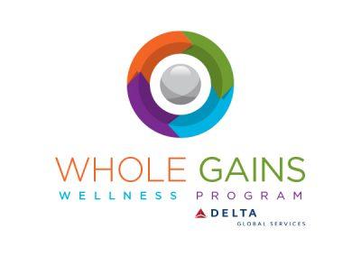 Whole Gains Wellness Program Logo